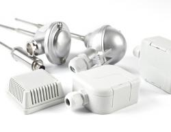 Temperature sensors with a connection head up to 600 °C